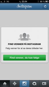 Find venner på Instagram