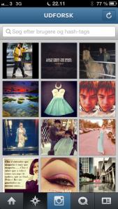 Udforsk Instagram-universet