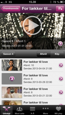 TV3 Play udvalgte