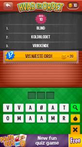 Hvad er ordet?