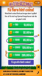 Køb flere mønter