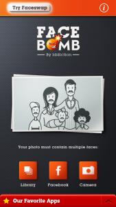 Face Bomb forside