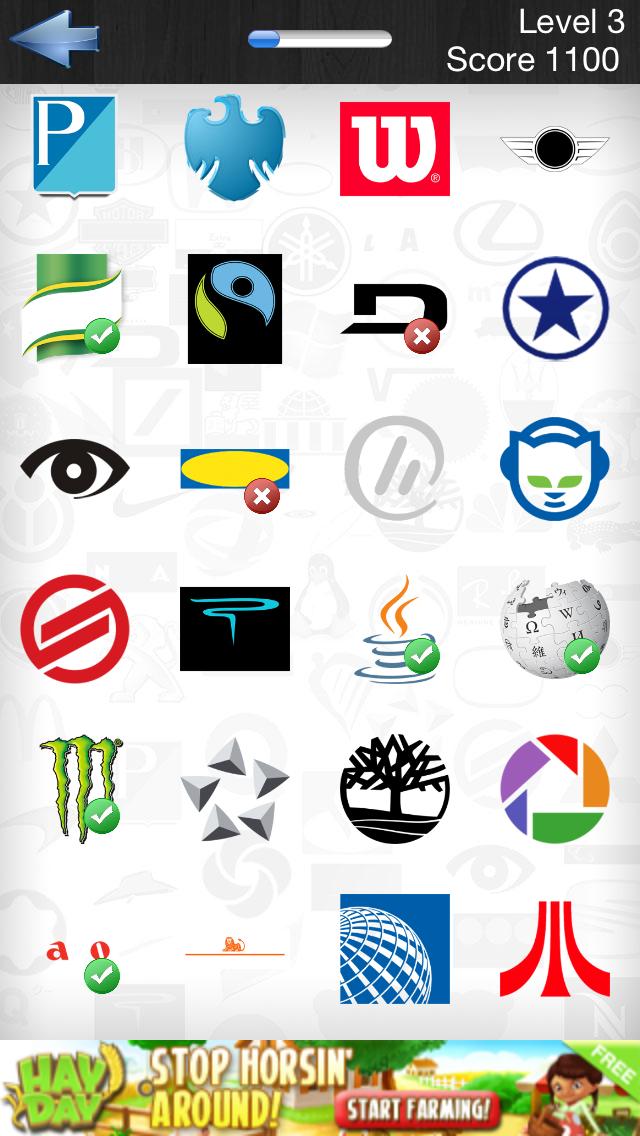 logo quiz app test din logoviden p229 tonsvis af logoer