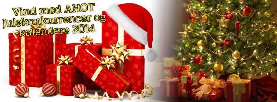Vind med AHOT - Julekalendere og julekonkurrencer 2014