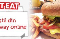 Just-Eat.dk app - bestil take-away mad fra din mobil