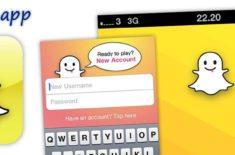 SnapChat app - chat med billeder