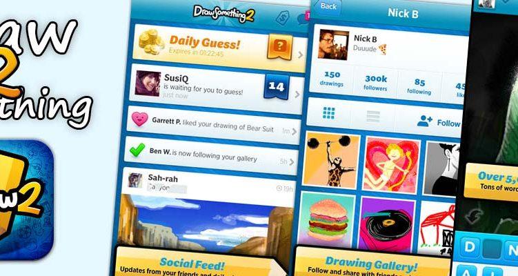 Draw Something 2: app og tegne-spil