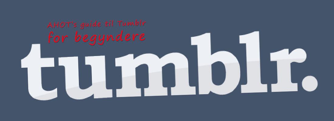 Tumblr guide