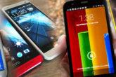 6 bedste BILLIGE smartphones i 2014