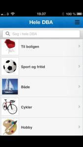 Den Blaa Avis app