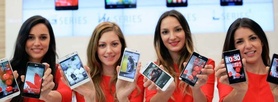 Top Android smartphones 2013