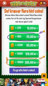 Køb mønter