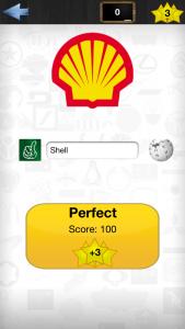 Eksempel på logo shell