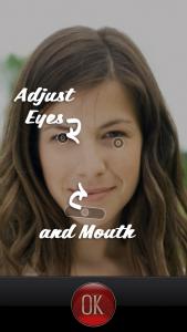 Marker øjne og mund
